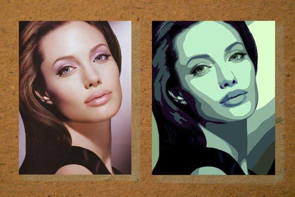 Как сделать арт портрет в фотошопе